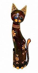 Статуэтка 'Котик цветочный Румбик' 80см.