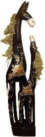 Парная статуэтка 'Лошади' 100см