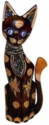 Фигурка Котик красавец в галстуке 35см.