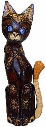 Фигурка Кот с бантиком 40см.