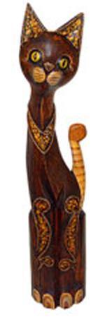 Фигурка из дерева 'Кошечка Бриджит' 60см.