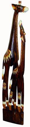 """Статуэтка интерьерная """"Два жирафа"""" 100cм."""