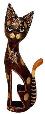 Статуэтка 'Кошка красавица' 30см.