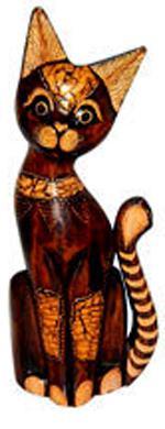 фигурка 'Кот в ошейнике' 25см.