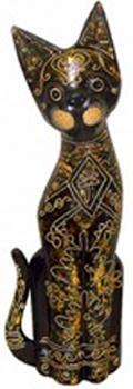 Фигурка с орнаментом  'Кот Марк' 40см.