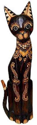 Расписная статуэтка Кот Берни 60см.