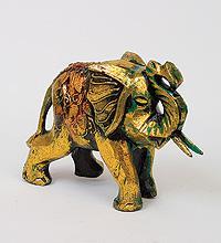Статуэтка СЛОН золотой, 25 см
