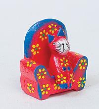 Статуэтка КОШКА на диване, разные цвета