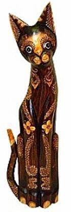 Фигурка деревянная 'Котик Дугс' 60см.
