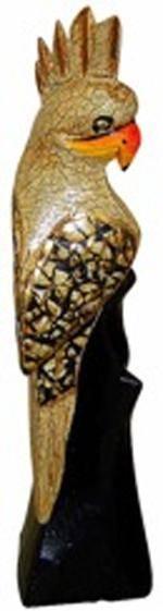 Декоративная статуэтка Какаду 25см.