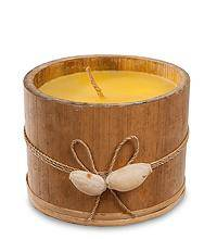 Свеча в бамбуке (о.Бали) 9 см.