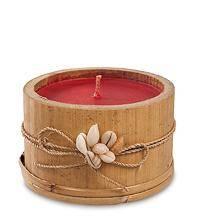 Свеча в бамбуке (о.Бали) 7 см.