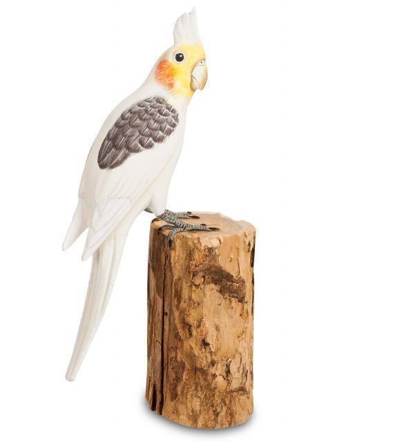"""Фигурка попугая """"Корелла"""" 32 см"""