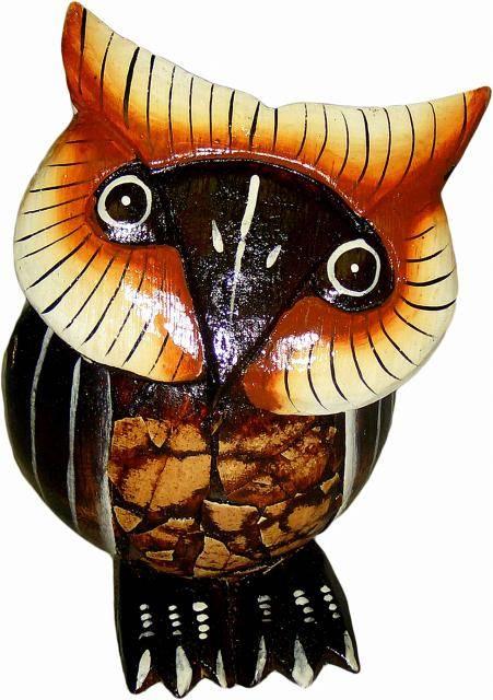 Статуэтка - символ мудрости 'Сова' 13см.
