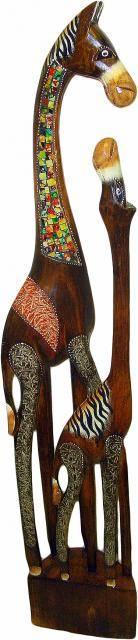 """Фигурка из дерева """"Лошади"""" 100cм."""