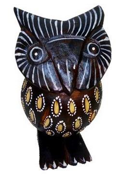 Фигурка совы в подарок 10см.