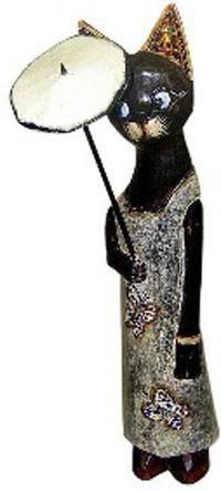 Фигурка 'Кошка Селеста с зонтиком' 80см.