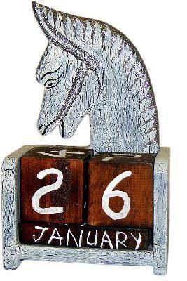 """Календарь настольный """"Лошадь"""" 10х17см."""