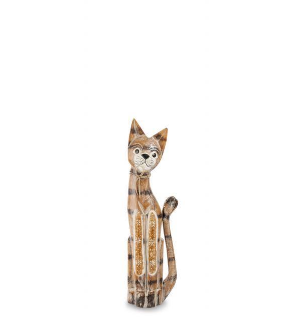 """Статуэтка """"Кошка"""" 60см (албезия, о.Бали)"""