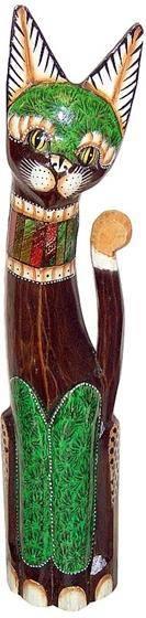 Статуэтка 'Кошка Фабигги' 80см.