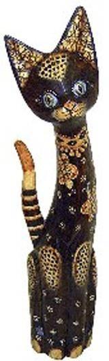 Статуэтка 'Кошка Сальвадора' 80см.