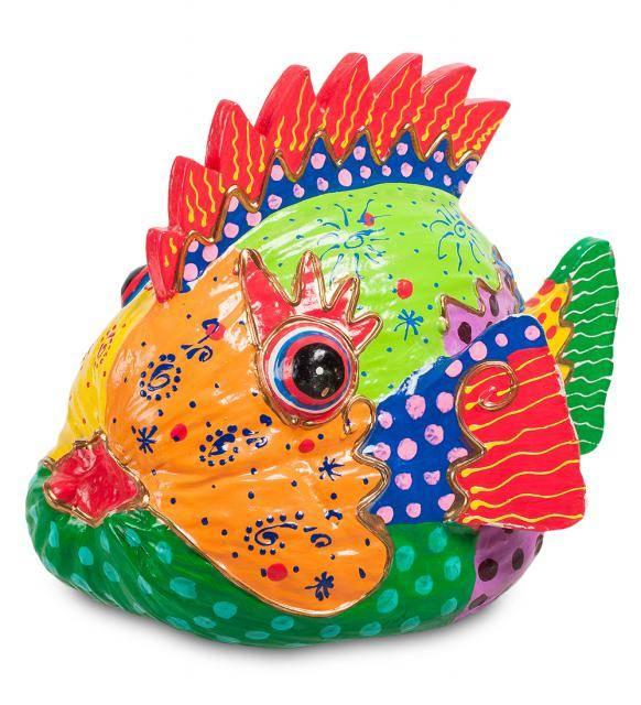 """Фигура """"Рыба"""" из кокоса (о.Бали)"""
