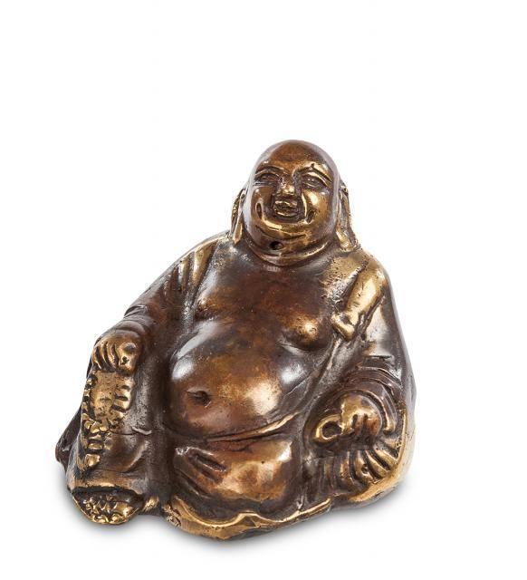 "Фигурка ""Смеющийся Будда - бог богатства"" (бронза, о.Бали) 5 см"