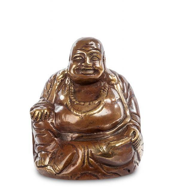 """Фигурка """"Смеющийся Будда - бог богатства"""" 7,5 см"""
