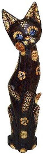 Статуэтка 'Кошка Суматра' 60см.