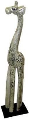 Деревянная статуэтка 'Жираф Марчик' 80cм.