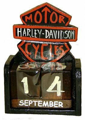 """Вечный Календарь """"HARLEY-DAVIDSON"""" 10х17см."""
