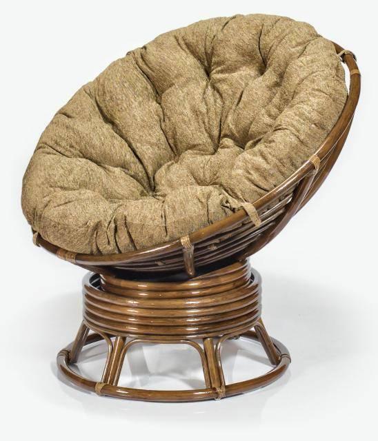 Кресло из ротанга Папасан (вращающееся)