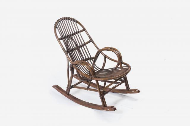Кресло-качалка из ротанга  Вирджиния