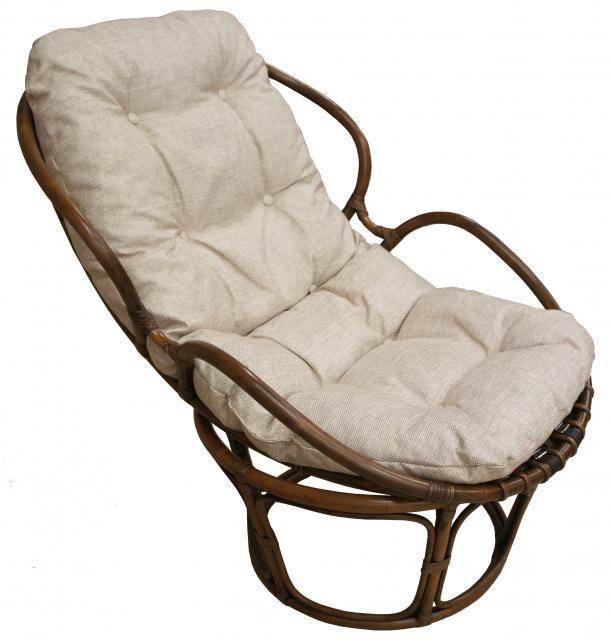 Кресло из ротанга Папасан Вирджиния