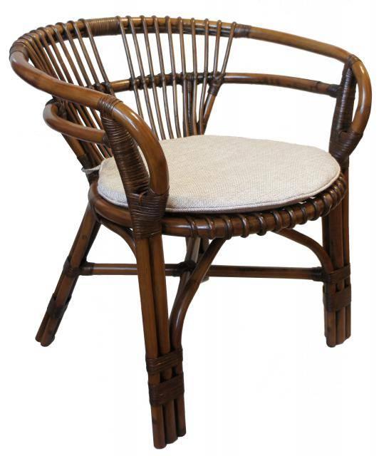 Кресло из натурального ротанга Вирджиния