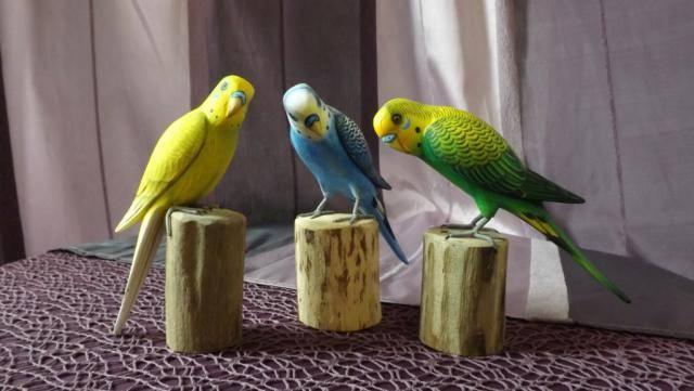 Фигурка Волнистый Попугай