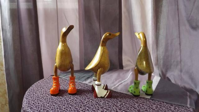 Фигура Модная  Утка в ботинках 30 см