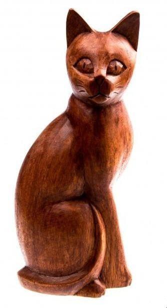 Кошка h=25 см.