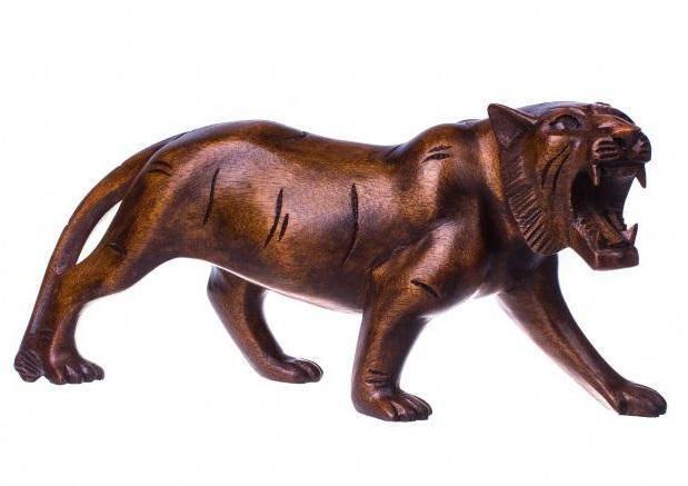 Статуэтка Тигр l=30 см.