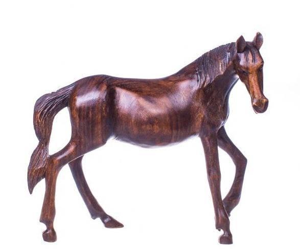 Подарок начальнику Лошадь 30 см.