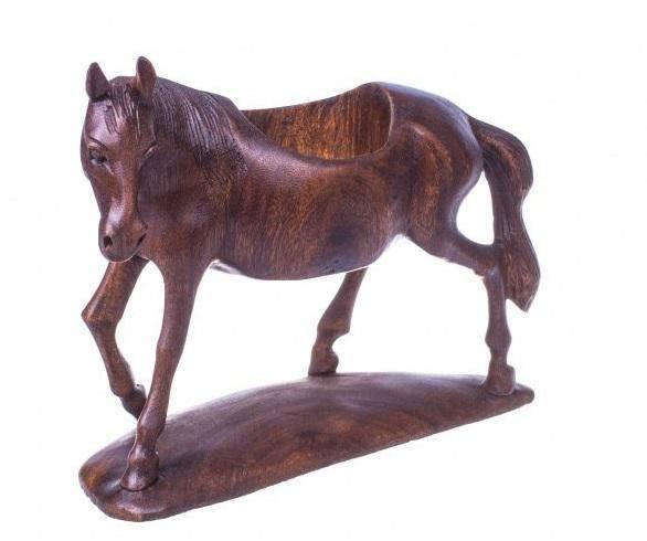 Подставка под бутылку  Лошадь l=30 см.