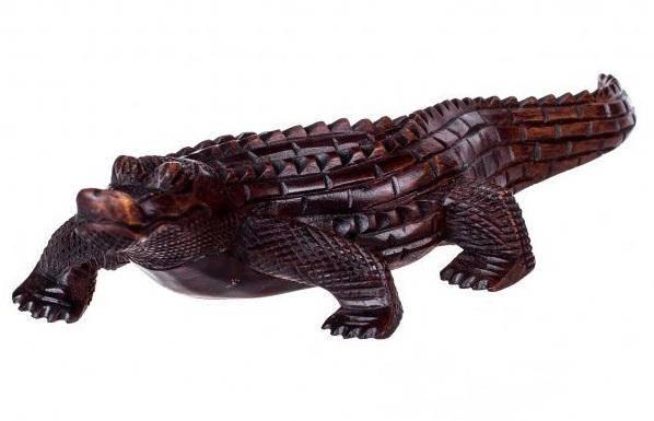 Статуэтка  Крокодил 30 см.