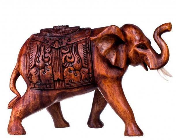 Фигура Слон с попоной 10 см.