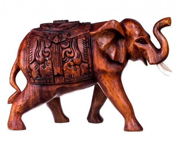 Слон с попоной 25 см.