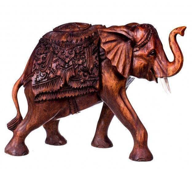 Фигурка Слон с попоной 30 см.