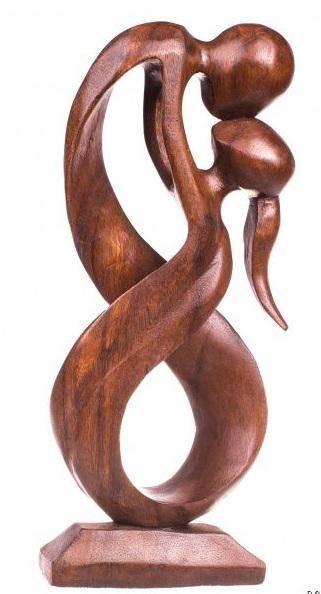 Абстракция из дерева Бескрайность 40 см.