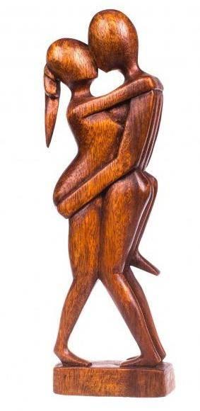 Фигура из дерева Абстракция Близость 50 см.