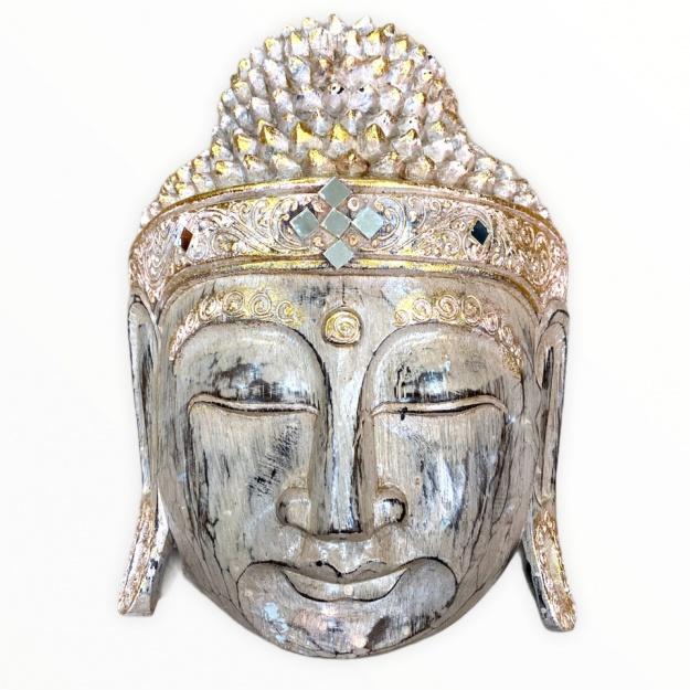 Маска 30 см. Голова Будды