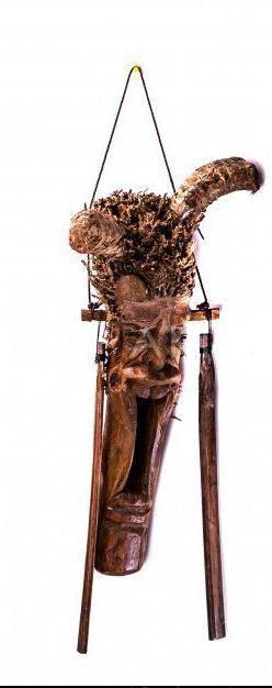 Колотушка Леший 50-60 см. с двумя палками