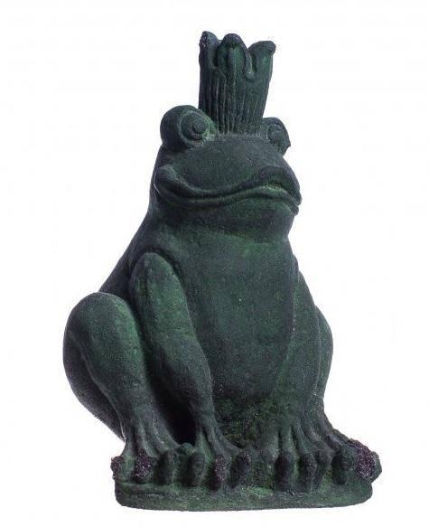 Фигурка Лягушка в короне высота 20 см.